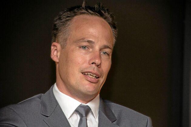 Christian Fink Hansen, VD för Landbrug & Fødevarers grissektion.