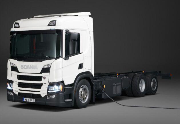 Scania lanserar dels en helelektrisk lastbil i två versioner samt en ny laddhybrid.