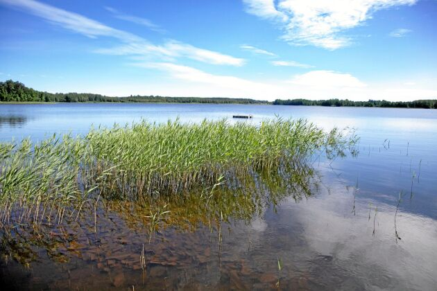 Stävresjön i Västmanland.