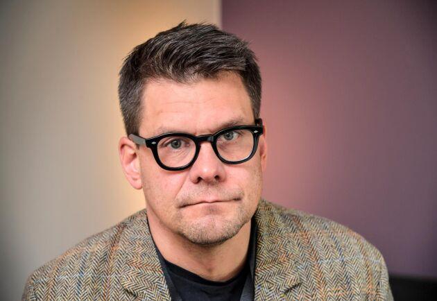 Jonas Trolle, chef för Centret mot våldsbejakande extremism (CVE). Arkivbild.