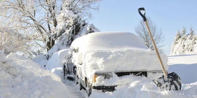 Kört fast i snön? Så kommer du loss!