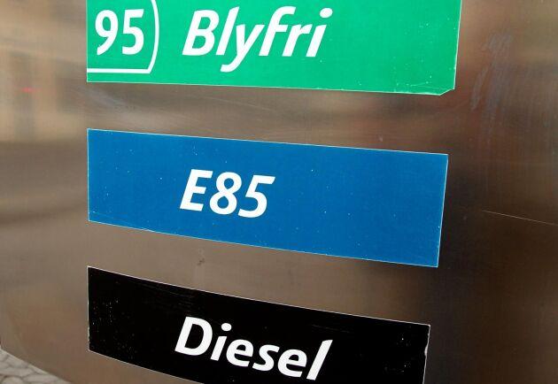 Bensin- och dieselpriset har gått upp.