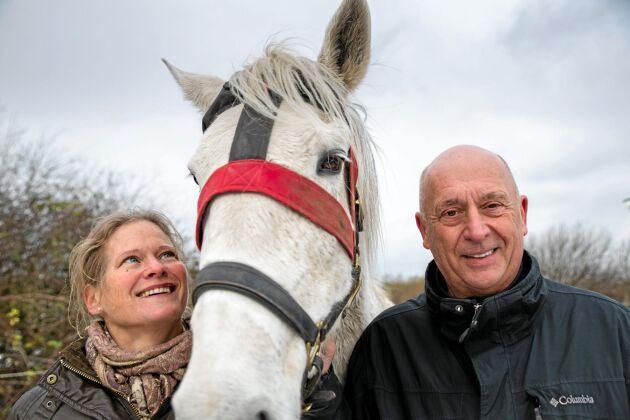 Priscilla Olsson och Karl Forssman är två av personerna bakom Hoofstep.
