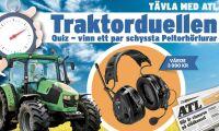 Tävling: Pricka in rätt traktorer – vinn Peltorlurar