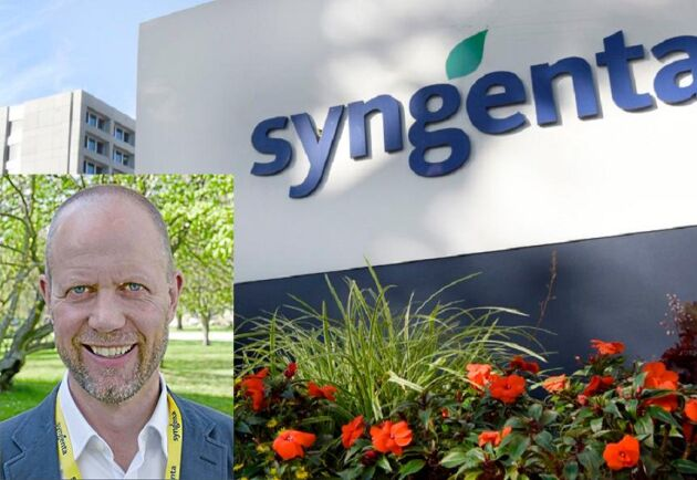 Matthew Pickard, nordenchef på Syngenta, välkomnar Chemchina som nya ägare.