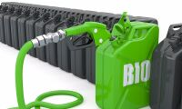 Kraftig ökning av biodrivmedel