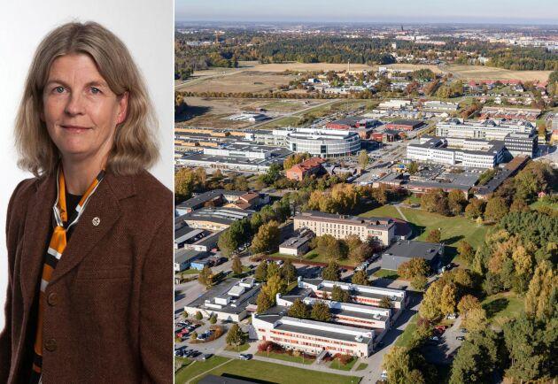 Karin Holmgren är prorektor på SLU med ansvar för lärosätets utbildningar.