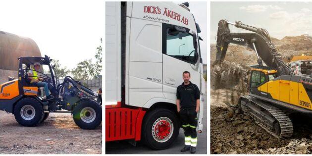Årets djurtransportör och ny lastare från Giant
