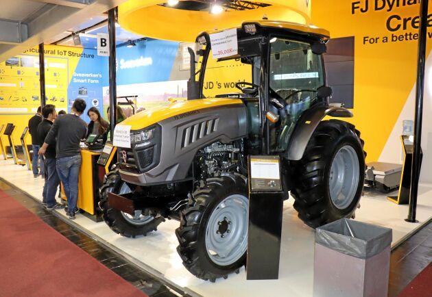 FJ Dynamicas autonoma traktor.