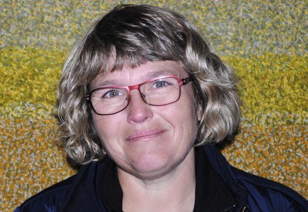 LRF Gotlands ordförande Anna Törnfelt anser att prishöjningen är helt orimlig.