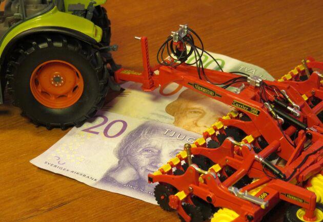 Det skjuts till mer pengar till landsbygdsprogrammet i vårändringsbudgeten.