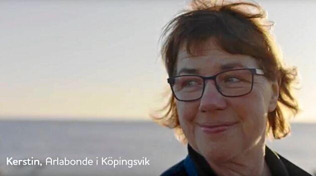 Folk i Stockholm känner igen henne från Arlas reklamfilmer i rutan.