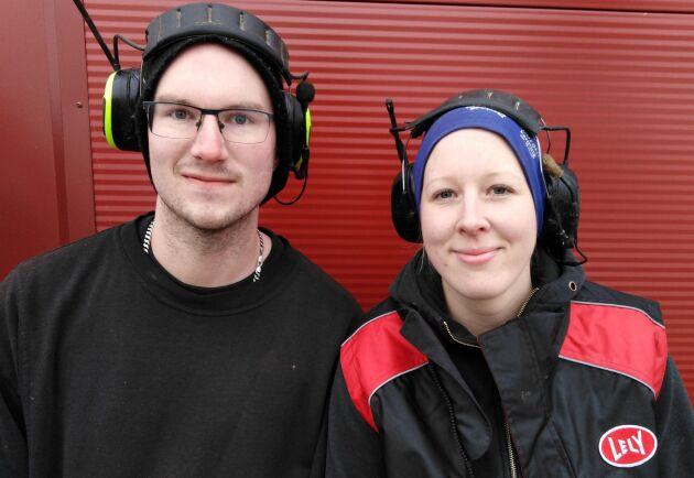 Jonas Pellbrant och Linda Långström.