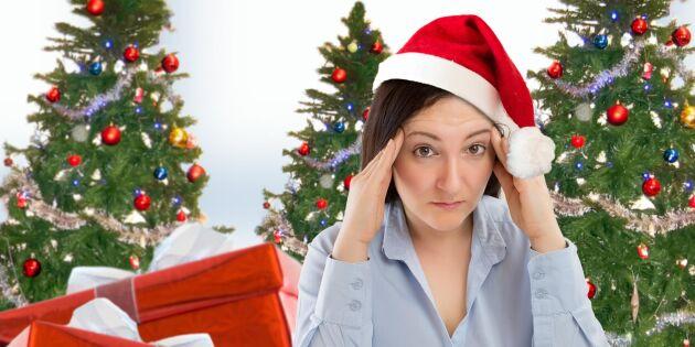Julstressen slår hårdare mot kvinnor