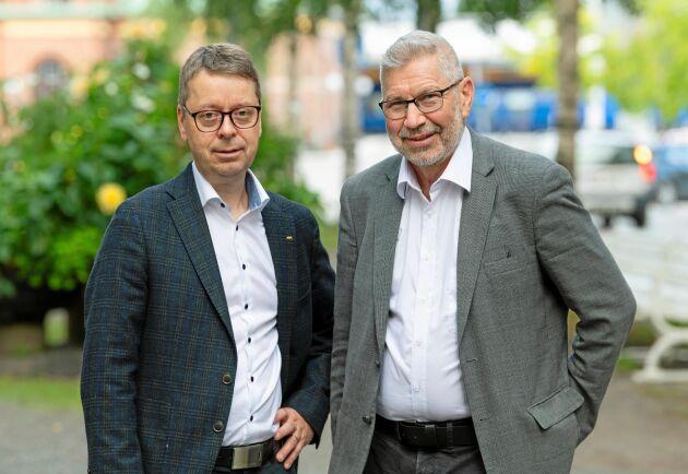 Norras VD Pär Lärkeryd och Norrskogs VD Olle Söderström har, tillsammans med sina styrelser, arbetat med fusionsplanerna under en kortare tid. Beslutet togs av styrelserna i somras, berättar Pär Lärkeryd.