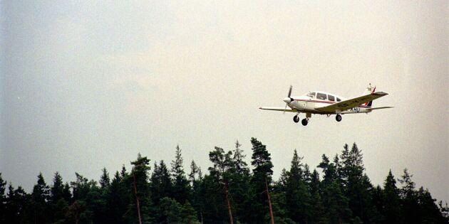 Frivilligflyget slog rekord i flygtimmar