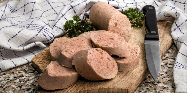 Hemgjord fläskkorv – här är bästa receptet