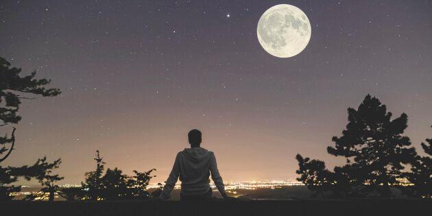 Här är alla datumen för årets fullmånar – och superfullmånar!