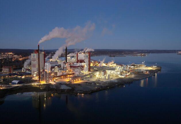 Örstrandsfabriken är en av SCA:s anläggningar. Skogsjätten är Sveriges populäraste större arbetsgivare.