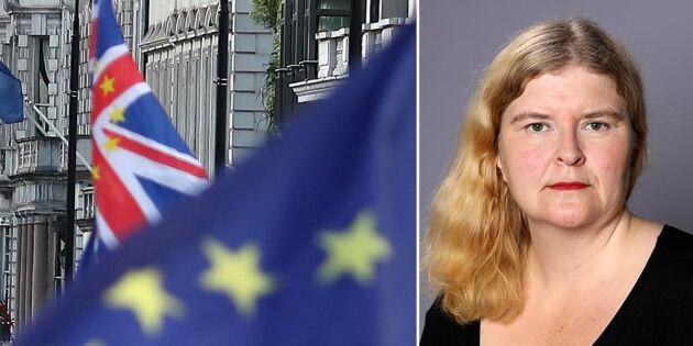 Ett Brexitavtal bara slutet på början