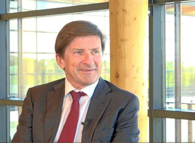 Södra vill inte kommentera hur krisen för Swedbank påverkar Lars Idermarks möjligheter att utföra sitt uppdrag som VD för Södra.