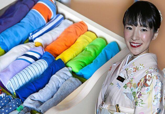 """Marie Kondo har blivit känd världen över med sin organiseringsmetod """"KonMari""""."""