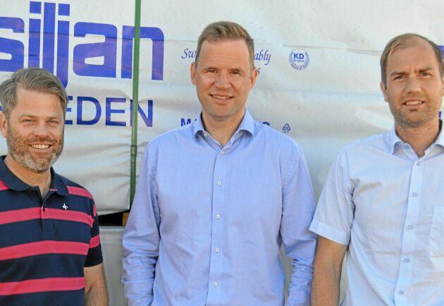 Tomas Turpers, Jon Hansson, Tom Wallén.