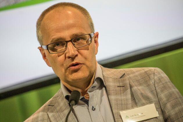 LRF:s förbundsordförande Palle Borgström saknar konkreta åtgärder för att förverkliga livsmedelsstrategin i regeringens höstbudget.