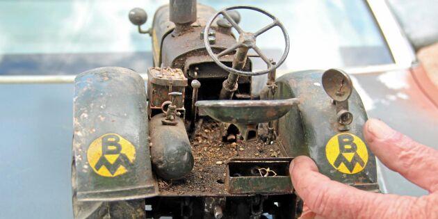 Skönhetsfläckar gör traktormodellerna unika