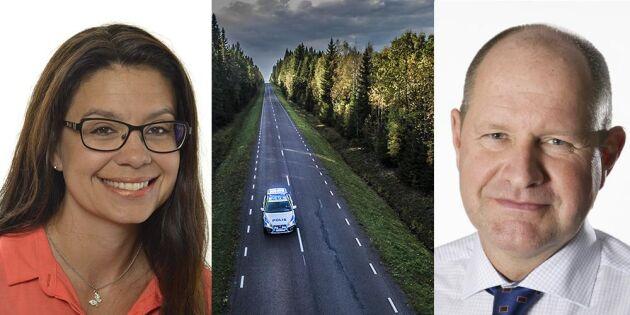 """""""Avgå Eliasson"""" - kritik efter beslut om en patrull i södra Lappland"""