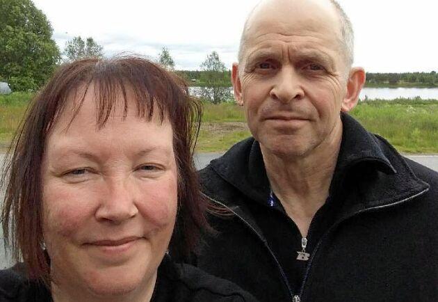 Nina Vingsund och Ove Fors är lantbrukare i Junosuando, 14 mil norr om polcirkeln.