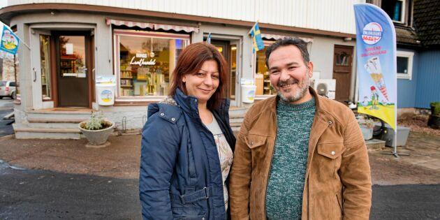 """Syriska Reim och Taisir räddade nedlagda lanthandeln: """"Vi tror på det här"""""""