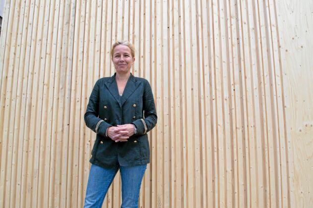 """""""Jag bidrar till en omställning mot bioekonomi, det känns jätteviktigt och meningsfullt"""", säger Susanne Rudenstam."""