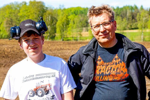 Rasmus och Jörgen Krohn har tillsammans hjälpts åt med renoveringen.