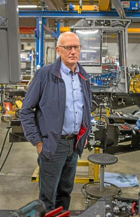 Hans Eliasson kom med idén till klustret och var ordförande fram till förra året. Han är delägare i Cranab/ Skagkraft.