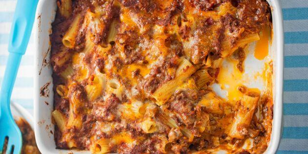 Pastagratäng med köttfärs – enkel vardagsfavorit