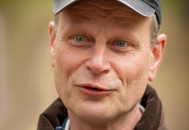 Henrik von Hofsten, projektledare på Skogforsk.