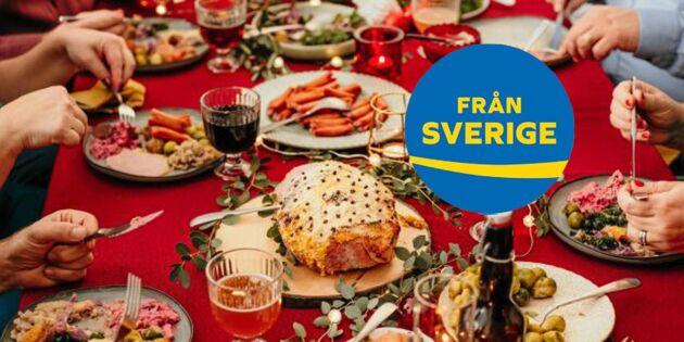 Julbord med mat från hela Sverige – råvarorna du ska satsa på