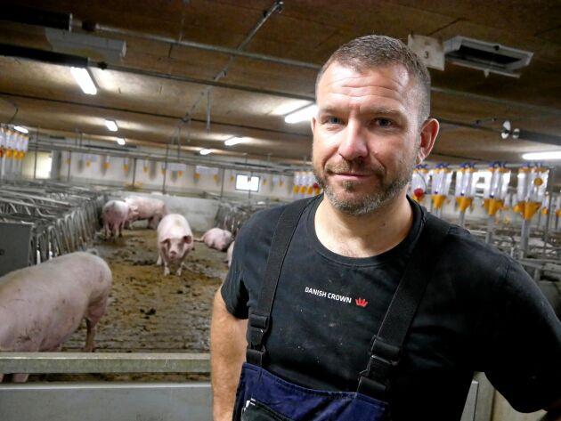 Att vara transparent och öppen kring sin produktion är viktigt för Jonas Würtz. Han bjuder ofta in till gårdsbesök.
