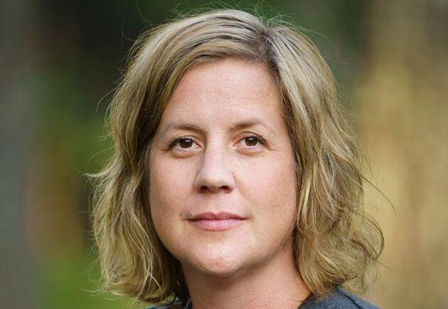 Agnes Hejll, kommunikationschef Stora Enso Skog.