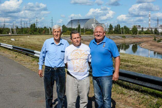 Petrov, Oleksandr och Mykola jobbade alla på kraftverket 1986.