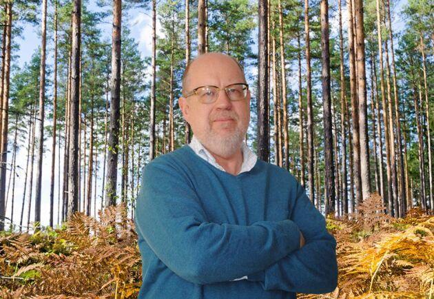 Knut Persson skriver ledare i Land Skogsbruk.