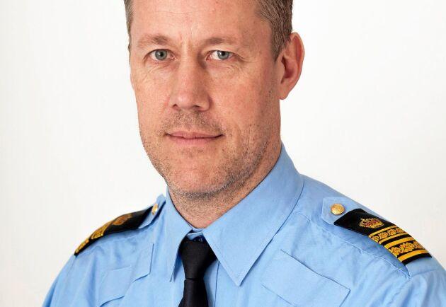 Mats Bergström är lokalområdeschef för polisen i Skaraborg, ett område där lantbrukare under årens lopp har drabbats hårt av militanta djurrättsaktivister.