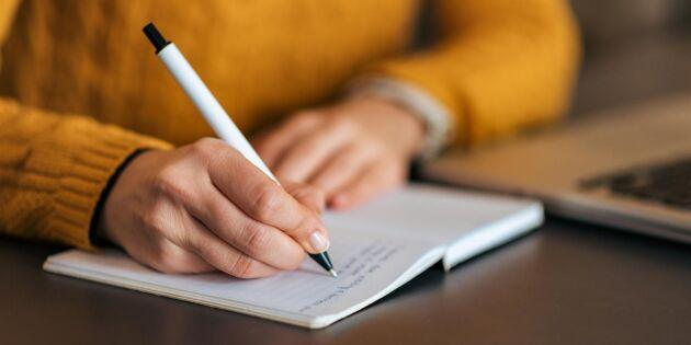 """Hitta författaren inom dig med digitala kursen """"Skriv ditt liv"""""""