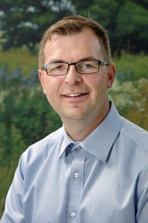 Marcus Söderlind, ordförande i Trädgårdsdelegationen inom LRF.