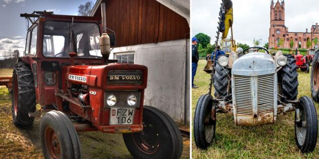 Sök bland 3 000 traktorer i ATL:s unika arkiv