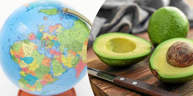 1000 mil till din tallrik –så långt har maten rest