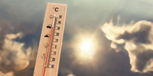 Fortsatt varmt i helgen – stor brandrisk