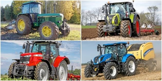 Här är de vanligaste traktorerna – län för län
