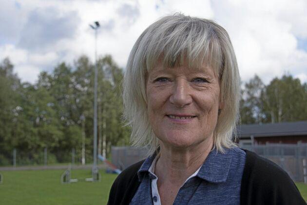 Kerstin Andersson, programansvarig på hundsportgymnaiset.